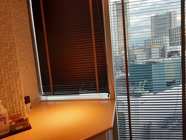ウルフギャング・パック・カフェ池袋店のトイレからの眺め