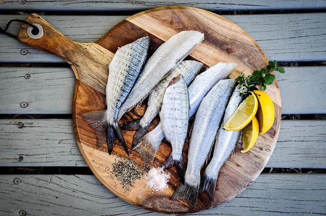 調理された魚