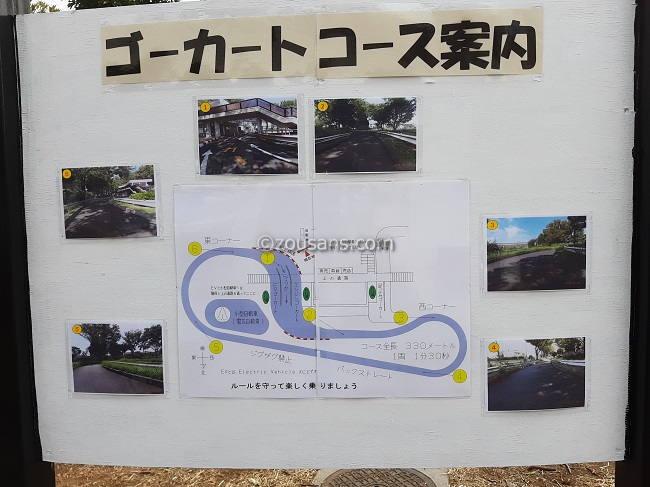 交通遊園(府中郷土の森)ゴーカートコース